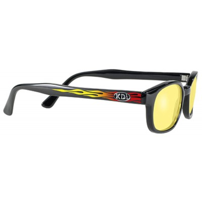 KD's 30112 -1 - flame yellow sunglasses by cachalo