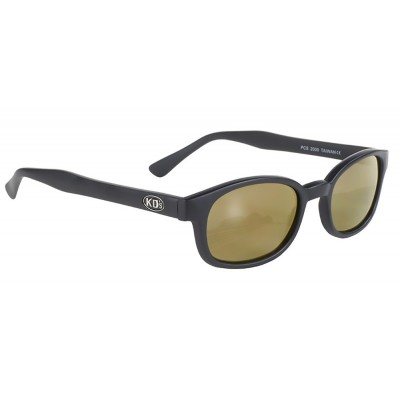 kd\'s 2000 -1 gold mirror sunglasses by cachalo