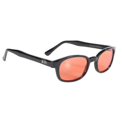 KD's 2128 -1 - orange lens - black frame - sunglasses by cachalo