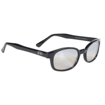 KD's 20113 -1 - clear mirror sunglasses by cachalo