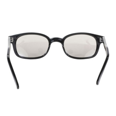 KD's 20113 -6 - clear mirror sunglasses by cachalo