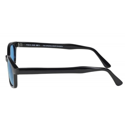 X-KD's 1129 -4 turquoise lens sunglasses by cachalo