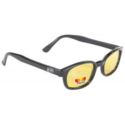 X-KD-s 10129 -1 polarized yellow lens sunglasses by cachalo