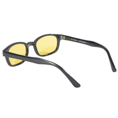X-KD-s 10129 -5 polarized yellow lens sunglasses by cachalo