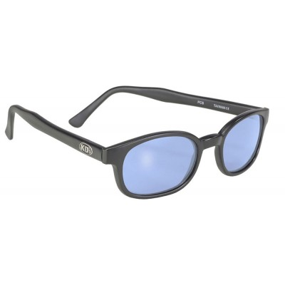 KD\'s 20012 -1 - black matte frame - light blue lens - sunglasses by cachalo