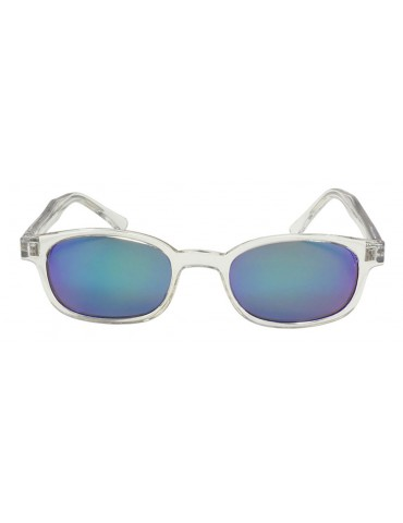 KD's 22018 -2 chill clear frame colored mirror lens by cachalo