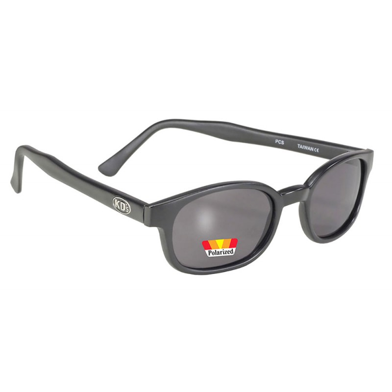 X-KDS 10019 -1 black matte frame - grey polarized lens sunglasses by cachalo