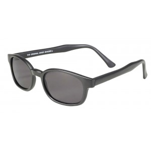 X-KDS 10019 -3 black matte frame - grey polarized lens sunglasses by cachalo