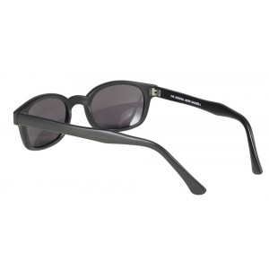X-KDS 10019 -5 black matte frame - grey polarized lens sunglasses by cachalo