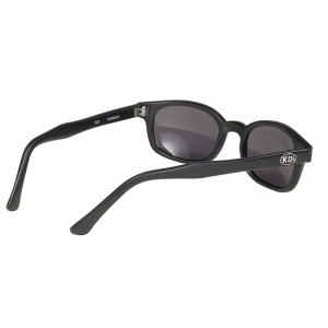 X-KDS 10019 -7 black matte frame - grey polarized lens sunglasses by cachalo